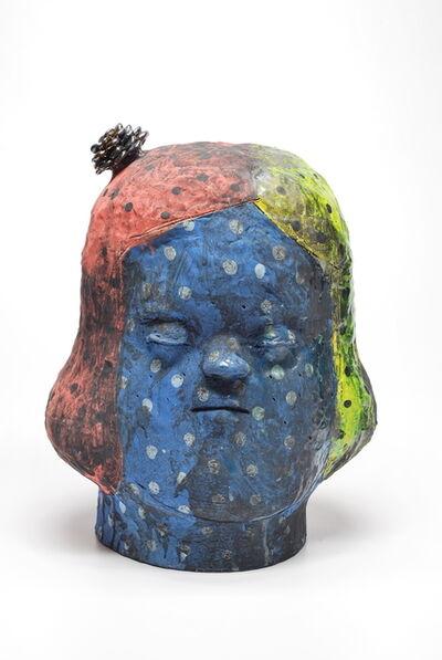 Kensuke Yamada, 'Head (Blue Girl)', 2015
