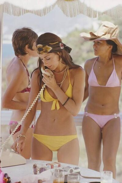 Slim Aarons, 'Slim Aarons  Social Call (Slim Aarons Estate Edition)', 1972