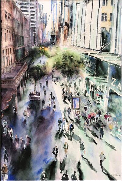 Cynthia Stewart, 'Pitt Street Mall Sydney', 2018