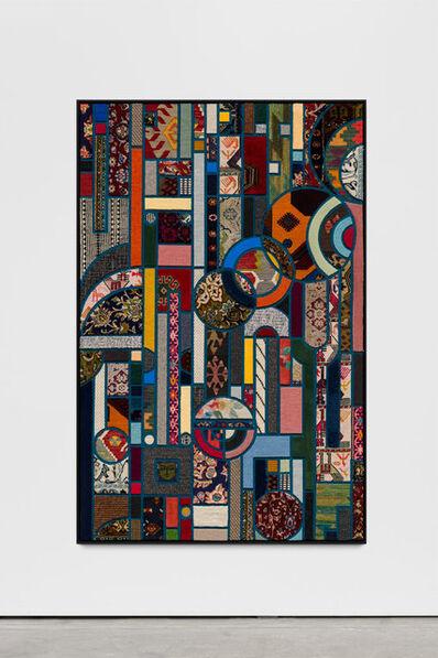 Nevin Aladağ, 'Social Fabric, petrol #2',  2019