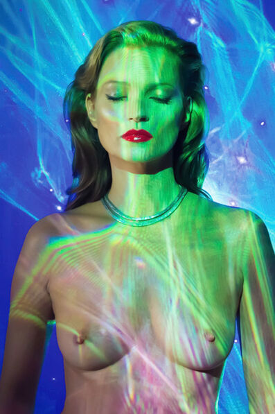 "Chris Levine, '""Kate Moss, She's Light, Laser 3""', ca. 2012"