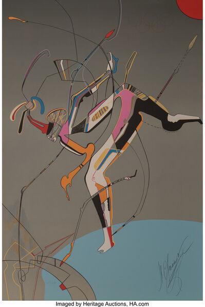 Mihail Chemiakin, 'Runner, from Official Arts Portfolio of the XXIVth Olympiad, Seoul, Korea', 1988