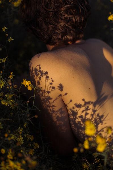 David van Dartel, 'Ruben in the flowers I/ Ruben in de bloemen I', 2018
