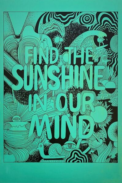 Jeremyville, 'Find the Sunshine in Our Mind', 2021