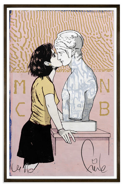 FAILE, 'Moon Club', 2017