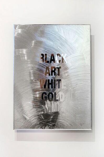 Emo de Medeiros, 'Black Art White Gold', 2018