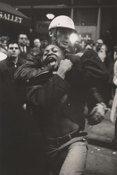 Danny Lyon, 'Arrest of Taylor Washington, Atlanta', 1963