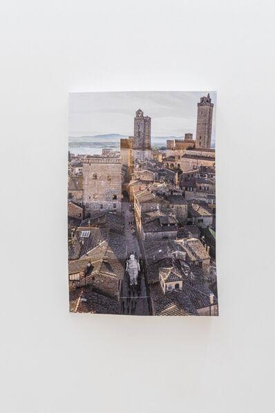 JR, 'Omelia Contadina, Processione, Paper Block #2, San Gimignano, Italie', 2020