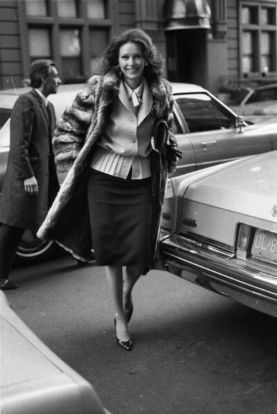 Bill Cunningham, 'Anne Getty', 1984