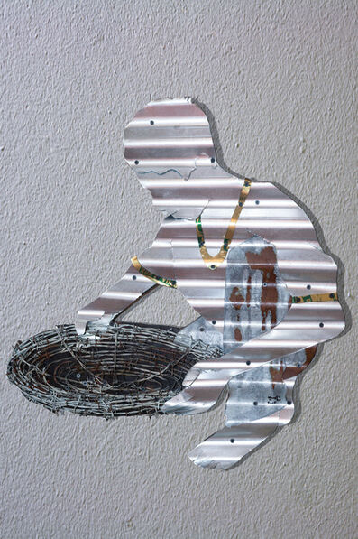 Abdul Rahman Katanani, 'Boy with a sieve', 2015