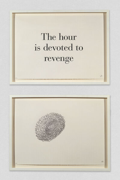 Louise Bourgeois, 'The Hour is Devoted to Revenge', 1999