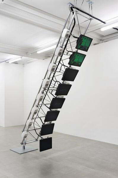 Dara Birnbaum, 'Transmission Tower: Sentinel', 1992