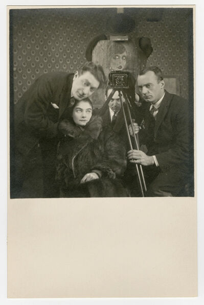André Kertész, 'Self-Portarit with Artists', ca. 1927