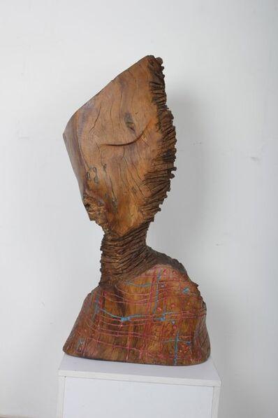 El Anatsui, 'It's written in her mind', 1993