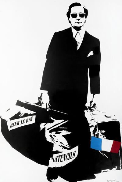 Blek le Rat, 'Man Who Walks Through Walls', 2006