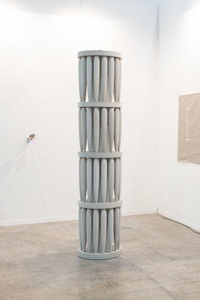 Tezontle, 'Torre Emplumada', 2018