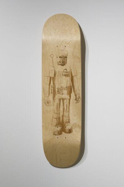 Brandon Vickerd, 'Iron Man from the series Skateboard Deck', 2015