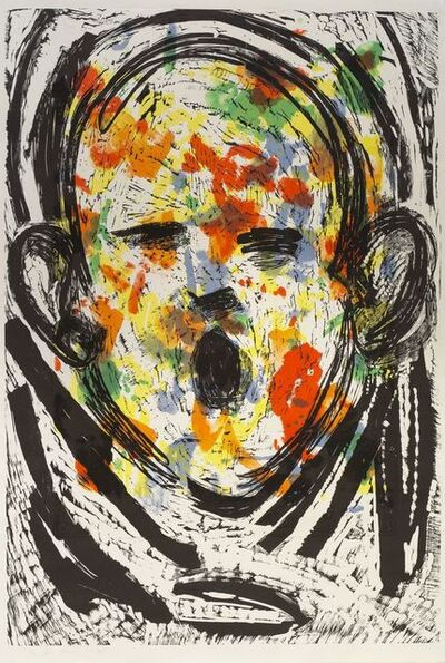 Jim Dine, 'The Floral Scream', 2017
