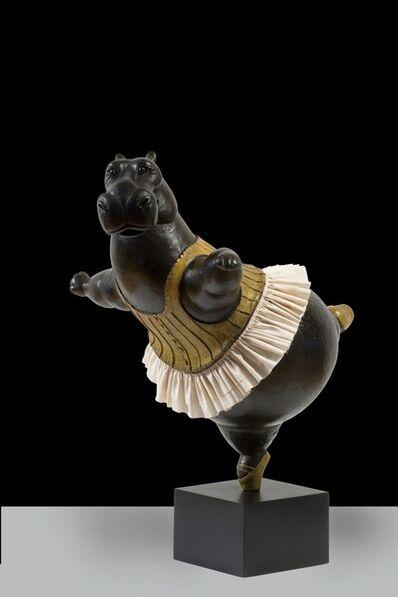 Bjorn Skaarup, 'Hippo Ballerina, pirouette', 2019