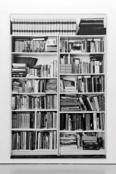 Hans-Peter Feldmann, 'Bookshelves (Billy by Ikea)'