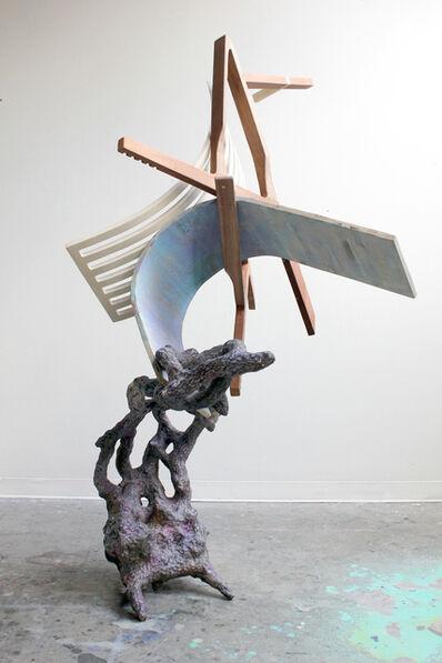 Austin Ballard, 'Ground Pine with Walnut on Lavender ', 2014