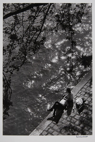 Alfred Eisenstaedt, 'Siesta on the right bank of the river Seine, Paris', 1964