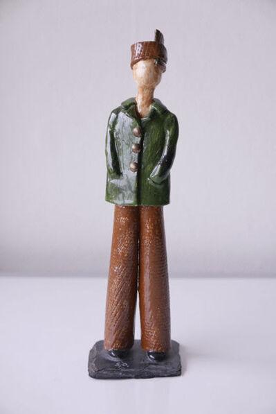 "Sonia Delaunay, '""Untitled Figurine, 6/6""', 1971"