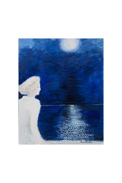 Andre Brasilier, 'La Nuit bleue', 2017