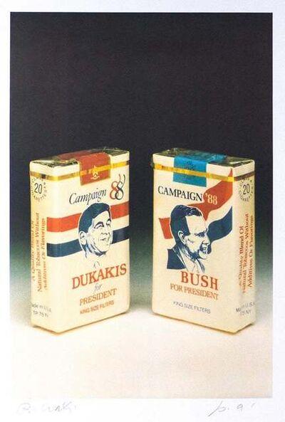Bettino Craxi, 'Bush-Dukakis', 1989