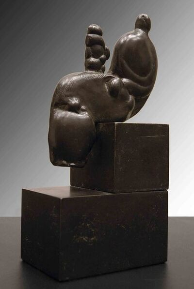 Henry Moore, 'Mother and Child on Knee', 1982