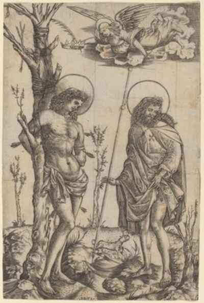 Christofano Robetta, 'Saint Sebastian and Saint Roch'