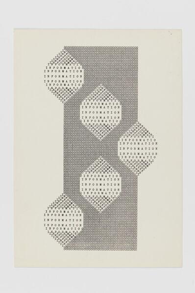 Ruth Wolf-Rehfeldt, 'Information Bildung', ca. 1980