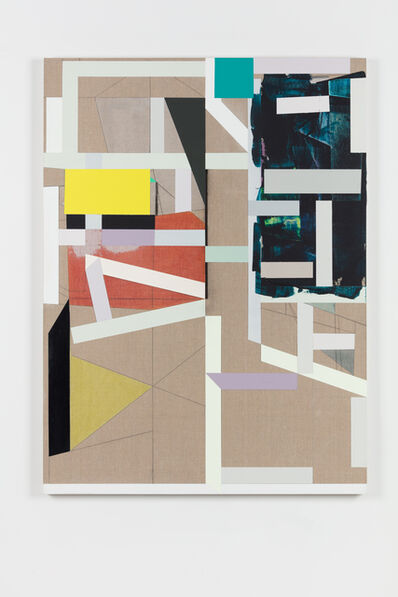 Andrew Bick, 'Variant t-s [flat and tilted] #2 v3', 2013-2018