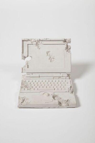 Daniel Arsham, 'Obsidian Eroded Laptop', 2013