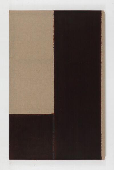 Yun Hyong-keun, 'Burnt Umber & Ultramarine Blue', 2001