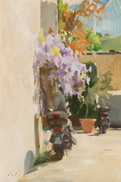 Marc Dalessio, 'Wisteria and Scooters', 2017