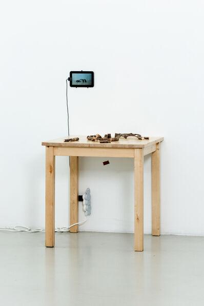 Nestor Engelke, 'ARCHITECT WOODMAN'S DESKTOP', 2019