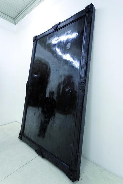 Alejandra Prieto, 'Coal Mirror', 2011