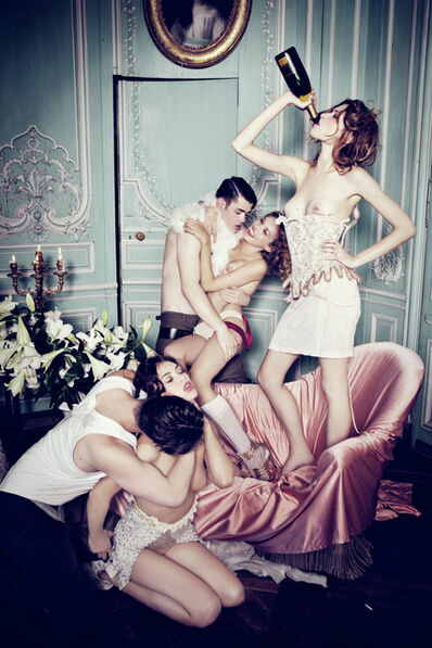 Ellen von Unwerth, 'When the Cat is Away...', 2011
