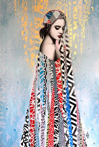 HUSH, 'Elysian Hand Painted Multiple Artist Proof', 2020