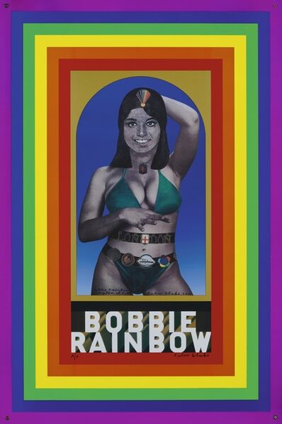 Peter Blake, 'Bobbie Rainbow', 1968