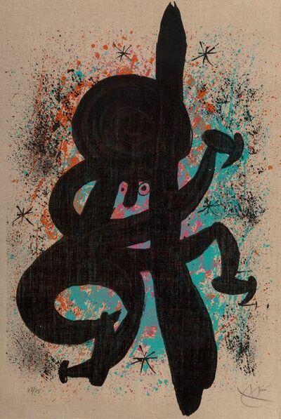 Joan Miró, 'L'Esquimau Fébrile', 1969