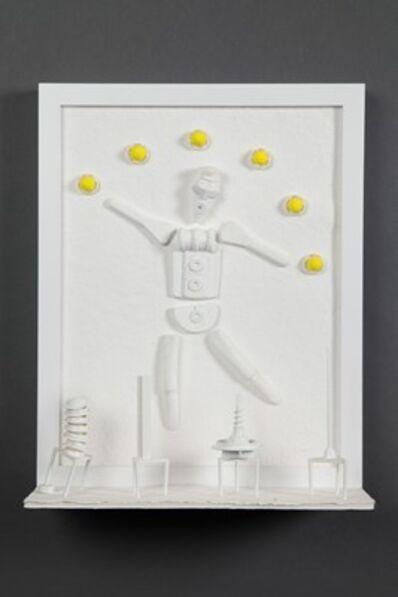 Gary Webernick, 'Pulp Fiction: Dancing Juggler with Small Sculptures'