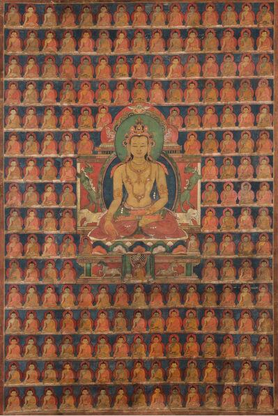 Unknown Tibetan, 'Thangka of Ratnasambhava', 14th–15th century