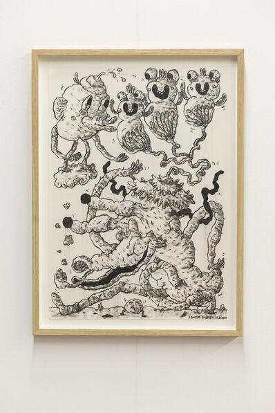 Joakim Ojanen, 'Charcoal drawing 07.01.2020', 2020