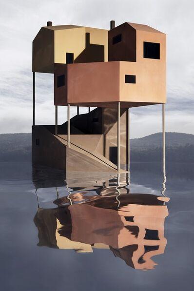 James Casebere, 'Industrial Overlap', 2019