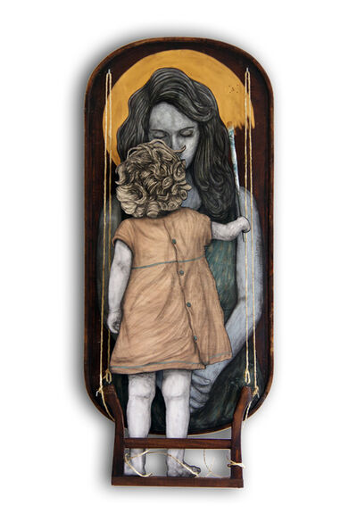 Levalet, 'How to make a mother', 2019