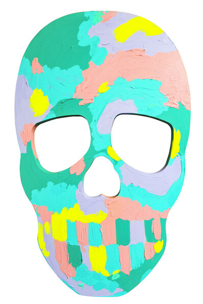 Bradley Theodore, 'Skull Face II ', 2017