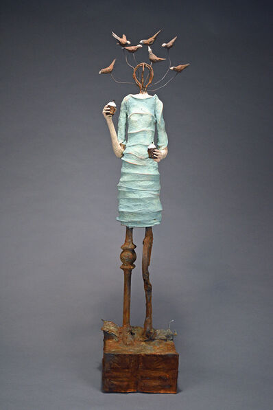 Johan Hagaman, 'Lady on a Limb Looking for Little Gods', 2018