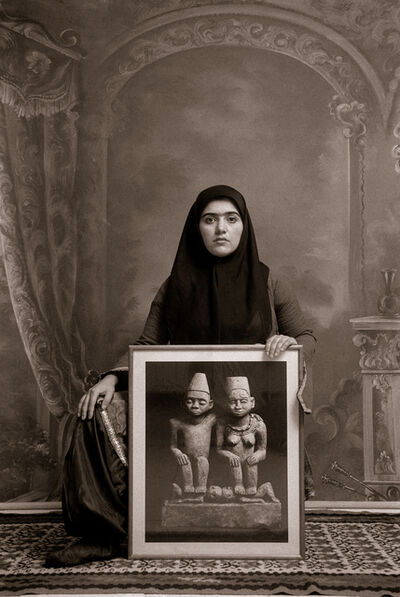 Shadi Ghadirian, 'Qajar #20', 1998